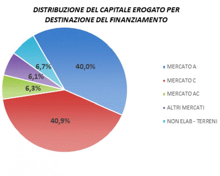 grafico destinazione mutui ipotecari 2020