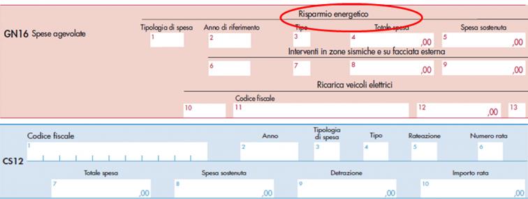 modello Cnm 2021- righi GN 16 e CS 12