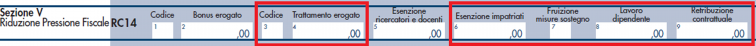 modello redditi PF 2021- rigo RC14